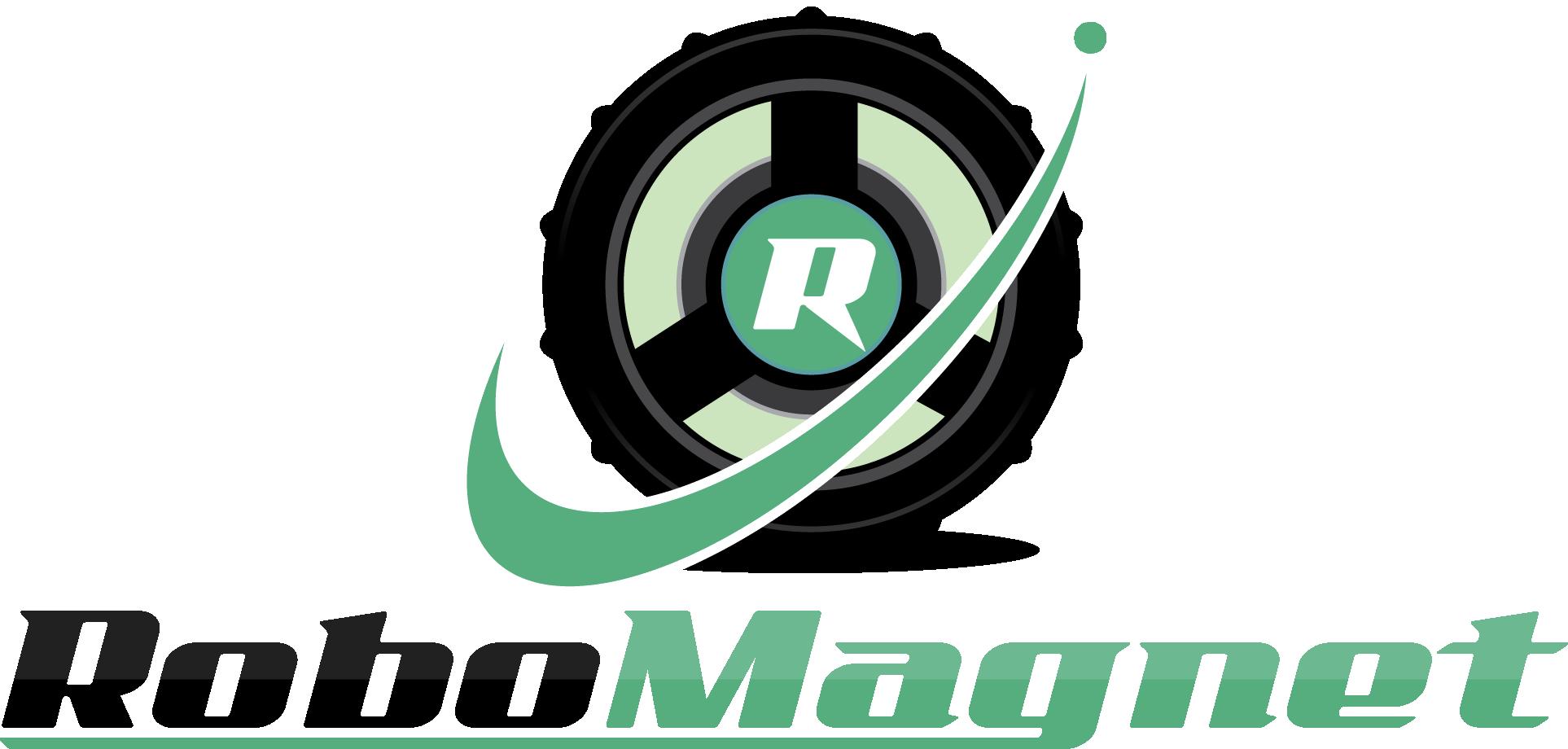 RoboMagnet Logotyp Stor